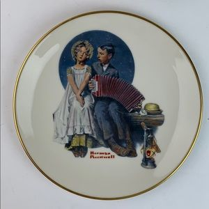 Norman Rockwell The Accordionist collector plate
